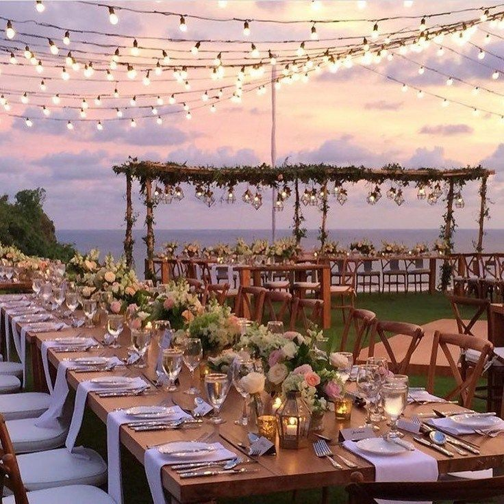 40 create a wedding outdoor ideas you can be proud of 27 #weddingoutdoorideas #weddingoutdoor #weddingideas #wedding