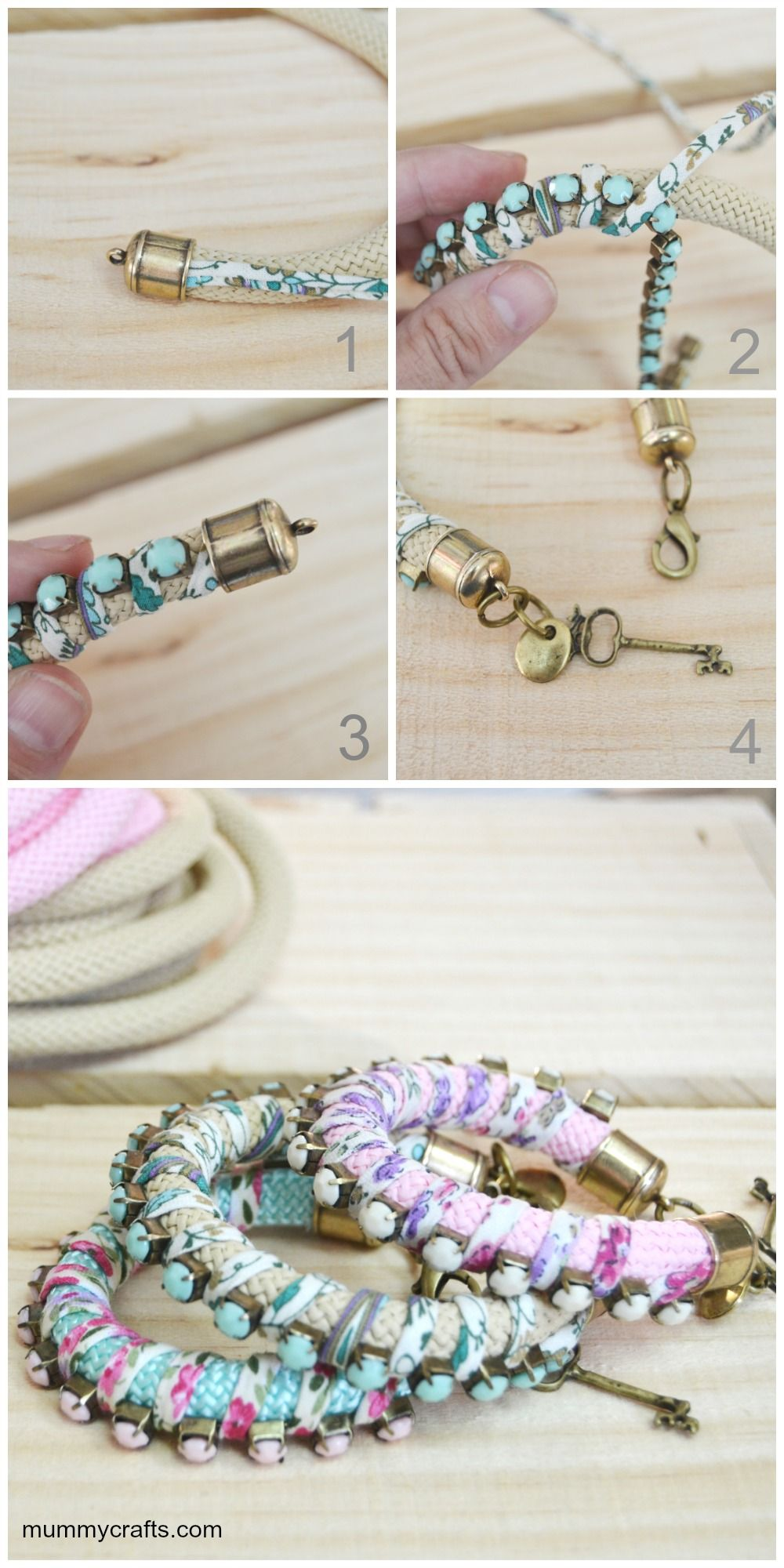 mode diy enfiler des perles bracelet strass et tape par tape tutos bijoux pinterest. Black Bedroom Furniture Sets. Home Design Ideas