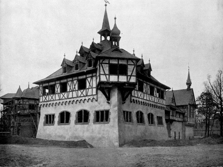 The Columbian Exposition Chicago 1893 THE GERMAN CASTLE This