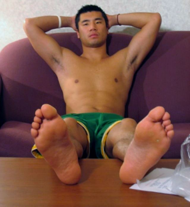 Apologise, but, Asian mens toes