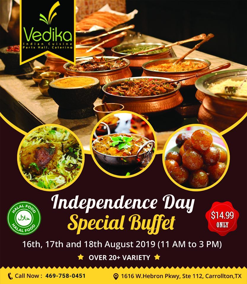 Independence Day Buffet Buffet Offers Buffet Food Halal Recipes Indian Cuisine