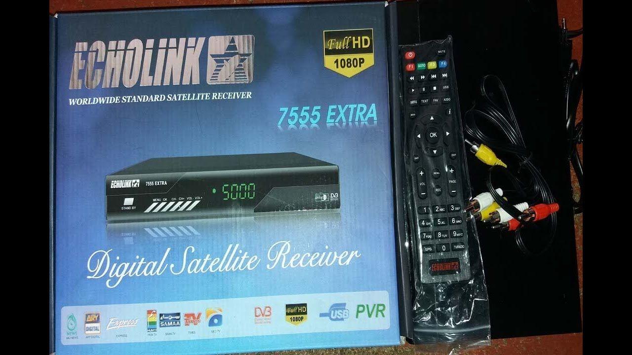 ECHOLINK 7555 EXTRA HD Digital Satellite Receiver Review