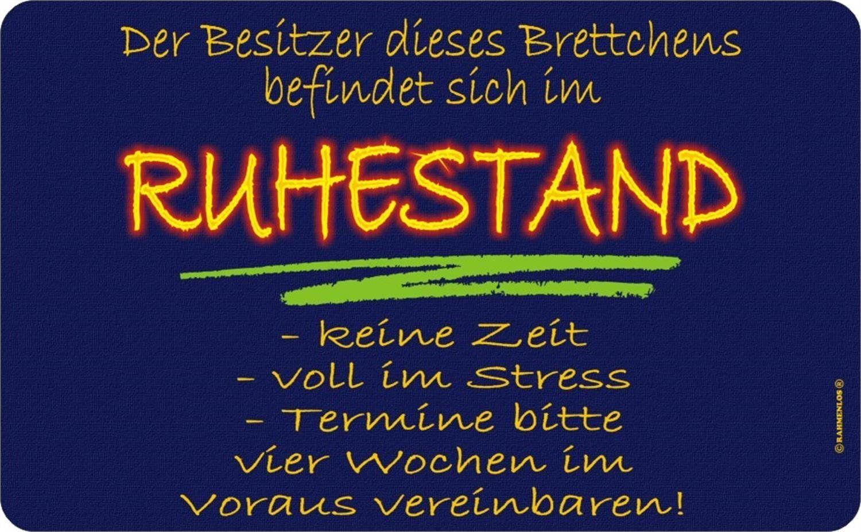 Besitzer Im Ruhestand Fruhstucks Brettchen Fun Rb7219 Amazon De Kuche Haushalt Spruche Zum Ruhestand Lustige Humor Bilder Spruche