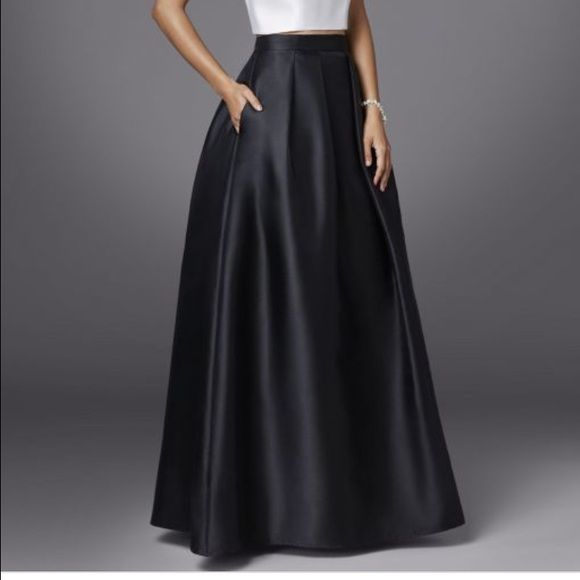 Betsy and Adam black ball gown skirt