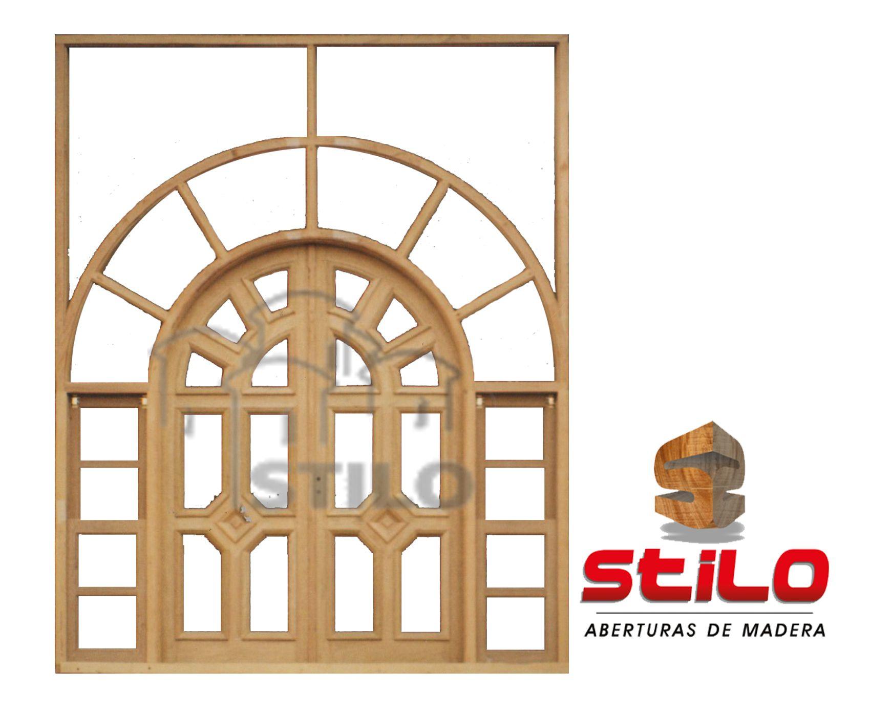 17+ Puertas de madera de medio punto ideas