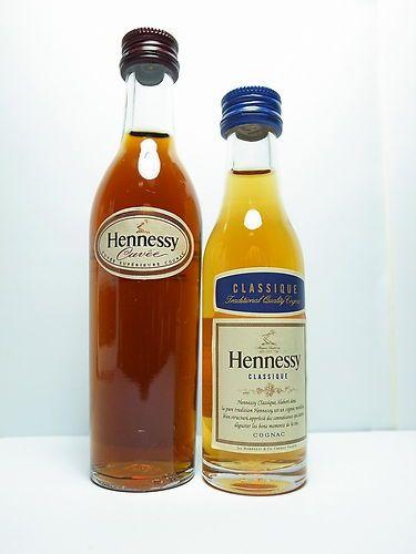 Hennessy Cognac Miniature Liquor Bottles Old Vintage Collectible Mini Alcohol Bottles Cuvee Classique Mini Alcohol Bottles Liquor Bottles Alcohol Bottles