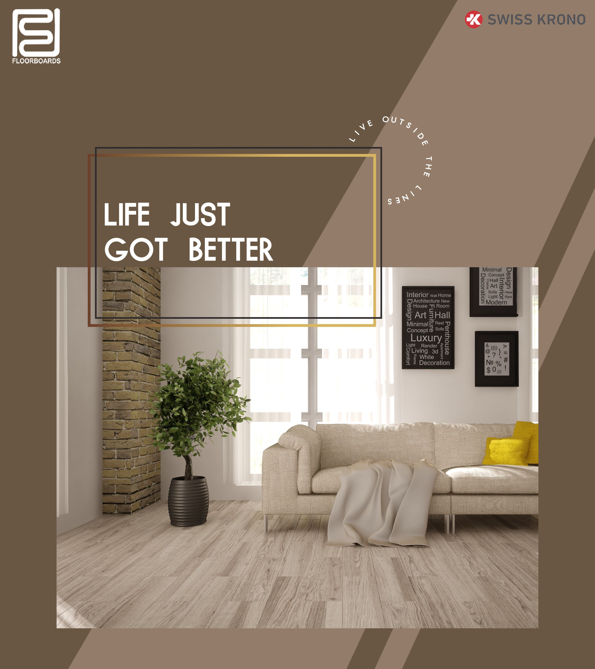 Beautiful flooring that complements the ever beautiful