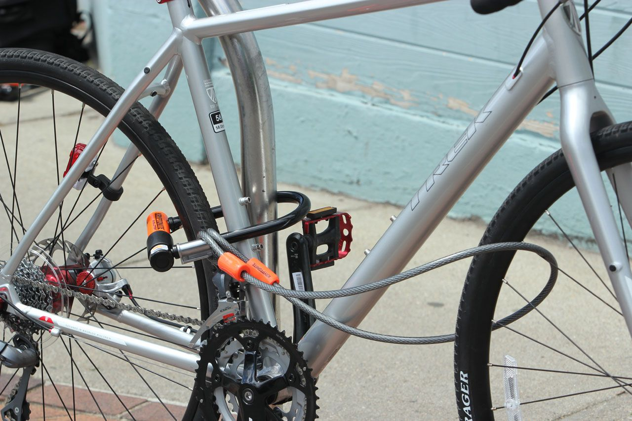 Bicycle Lock Up How To Methods Bike Lock Bicycle Bicycle Lock