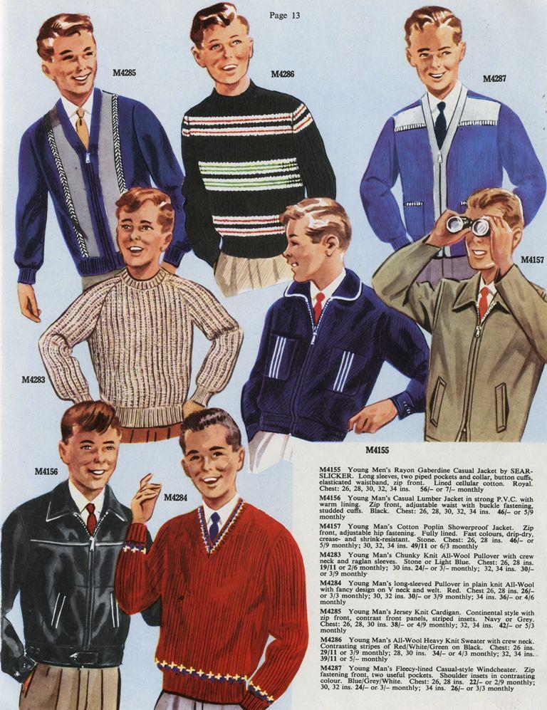 Men S Fashions 1961 1950s Fashion Menswear Mens Fashion Casual Casual Fashion