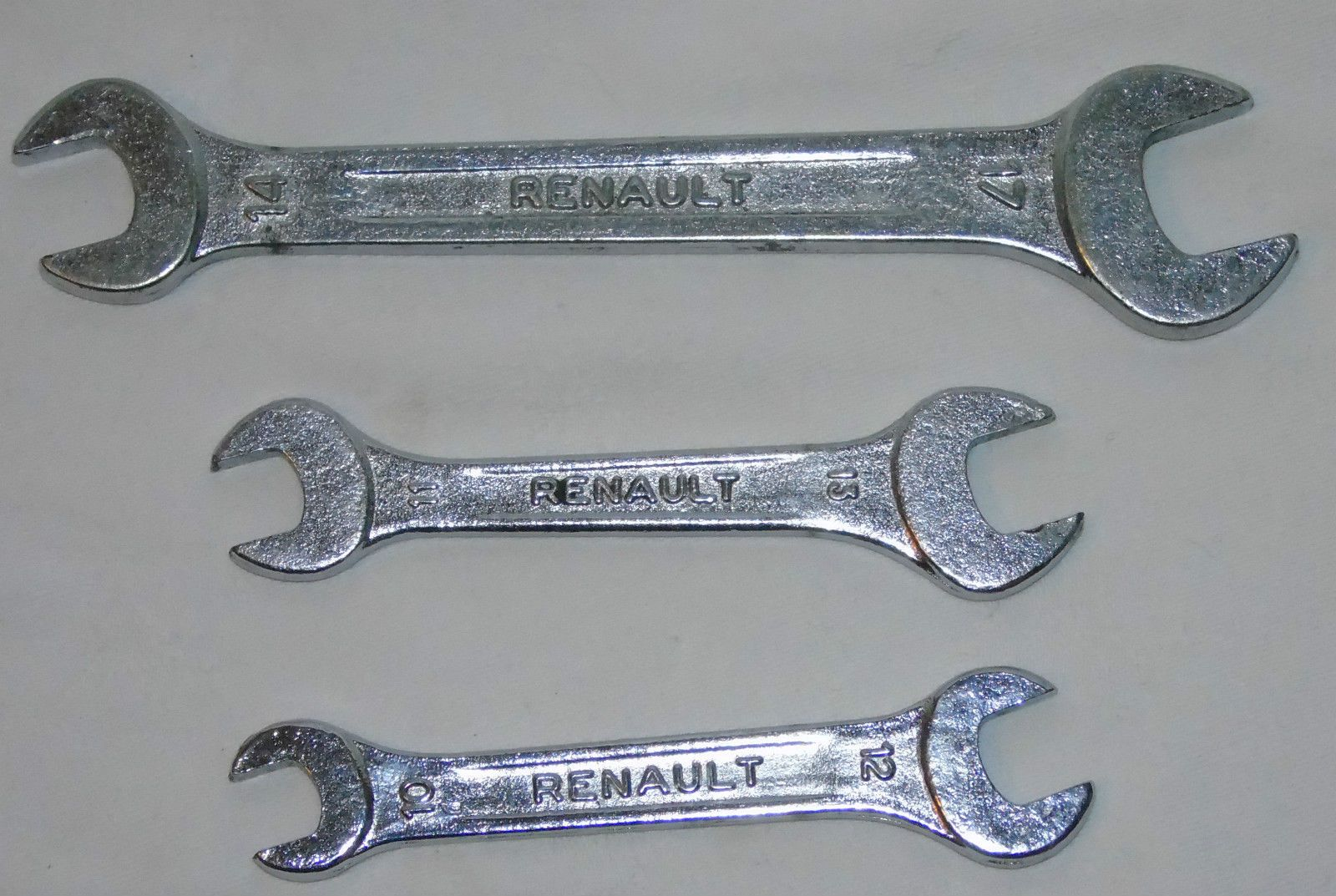Vintage Tools Vehicle Parts & Accessories A Collection Of 3 Vintage Spanners