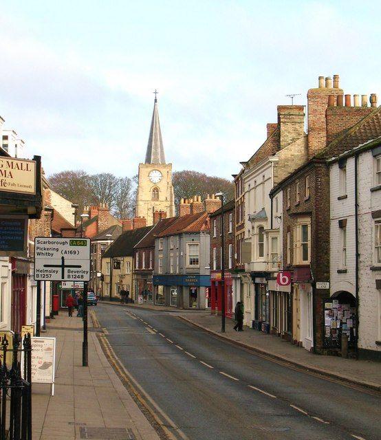 Malton, Yorkshire; © Copyright Gordon Hatton