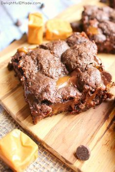 Caramel Brownies Recipe Cake Mixes