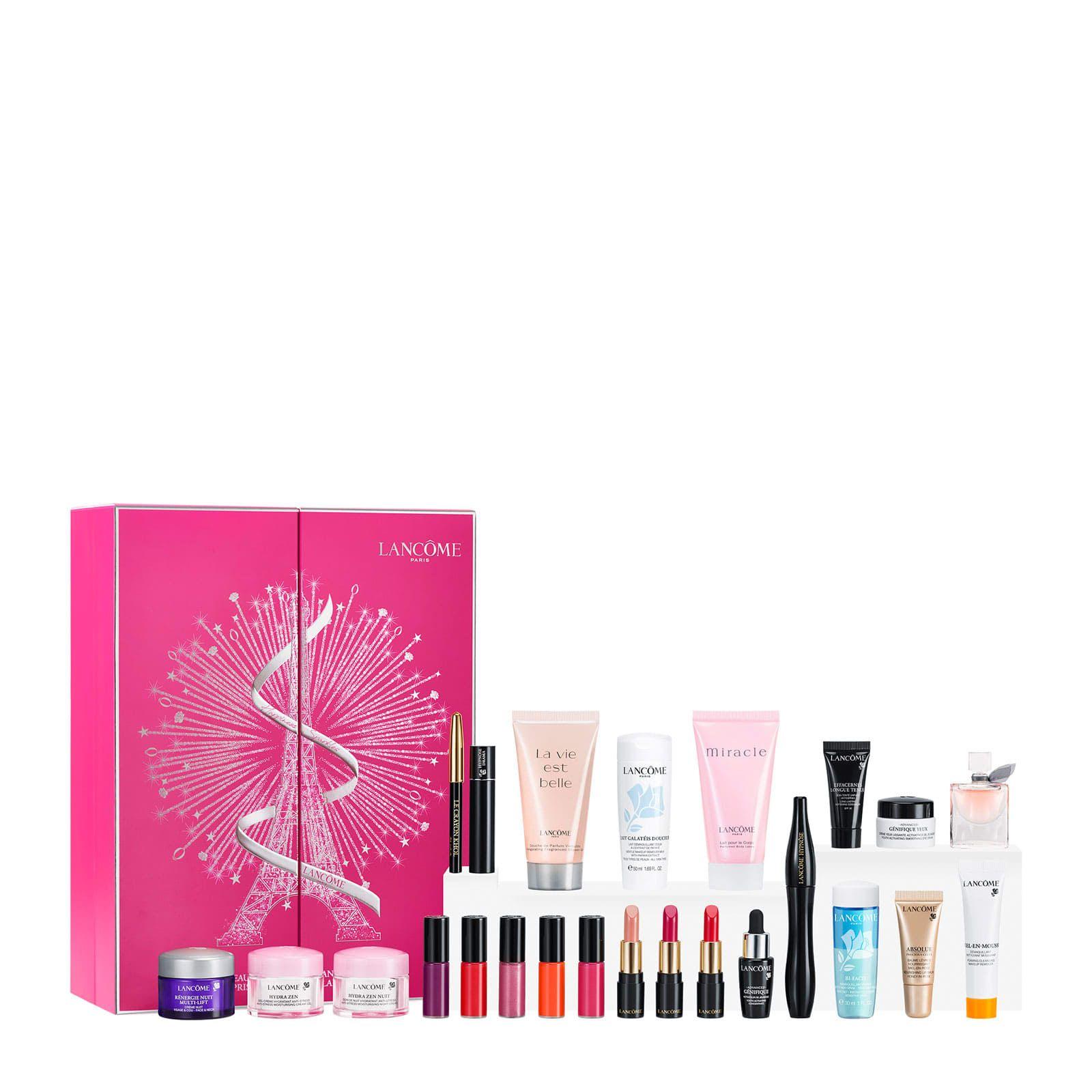 Lancome Advent Calendar 2018 Unboxing Feelunique Beauty Advent Calendar Lancome Christmas Makeup Tutorial
