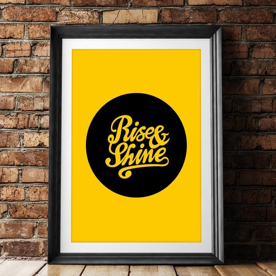Rise & Shine http://www.amazon.com/dp/B0176LUXEI inspirational quote ...