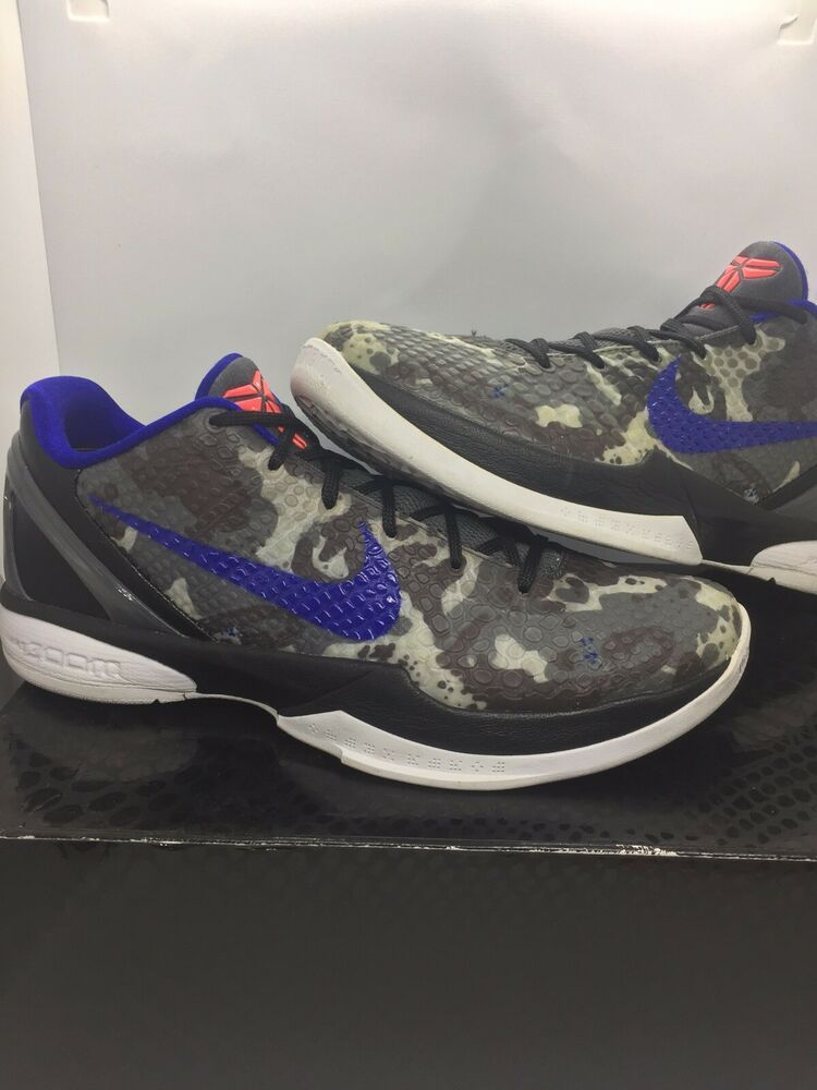 Nike Kobe 6 VI BHM Black History Month Size 9 Style Code