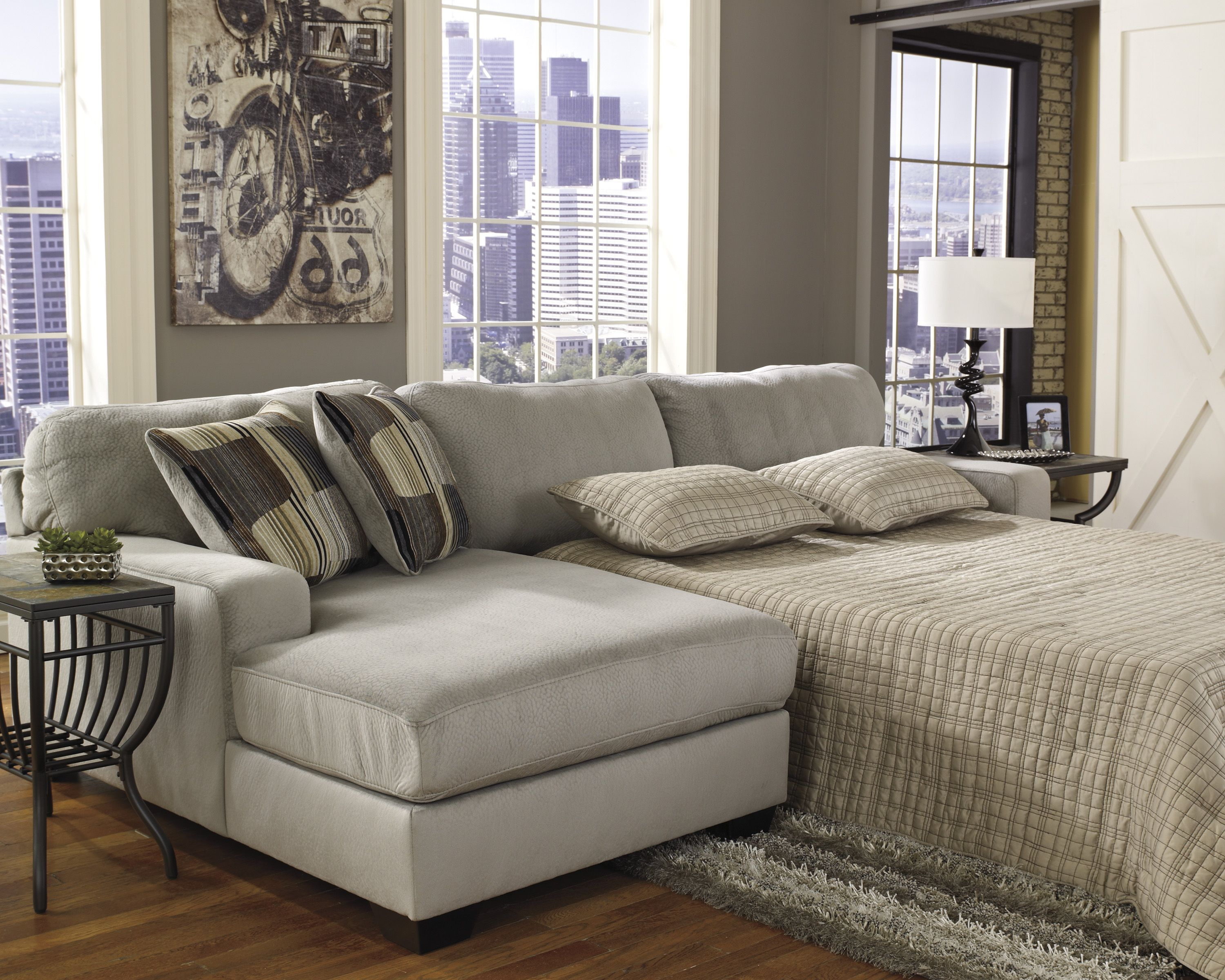 Westen Granite Sleeper Sectional Set | Marjen Of Chicago | Chicago Discount  Furniture