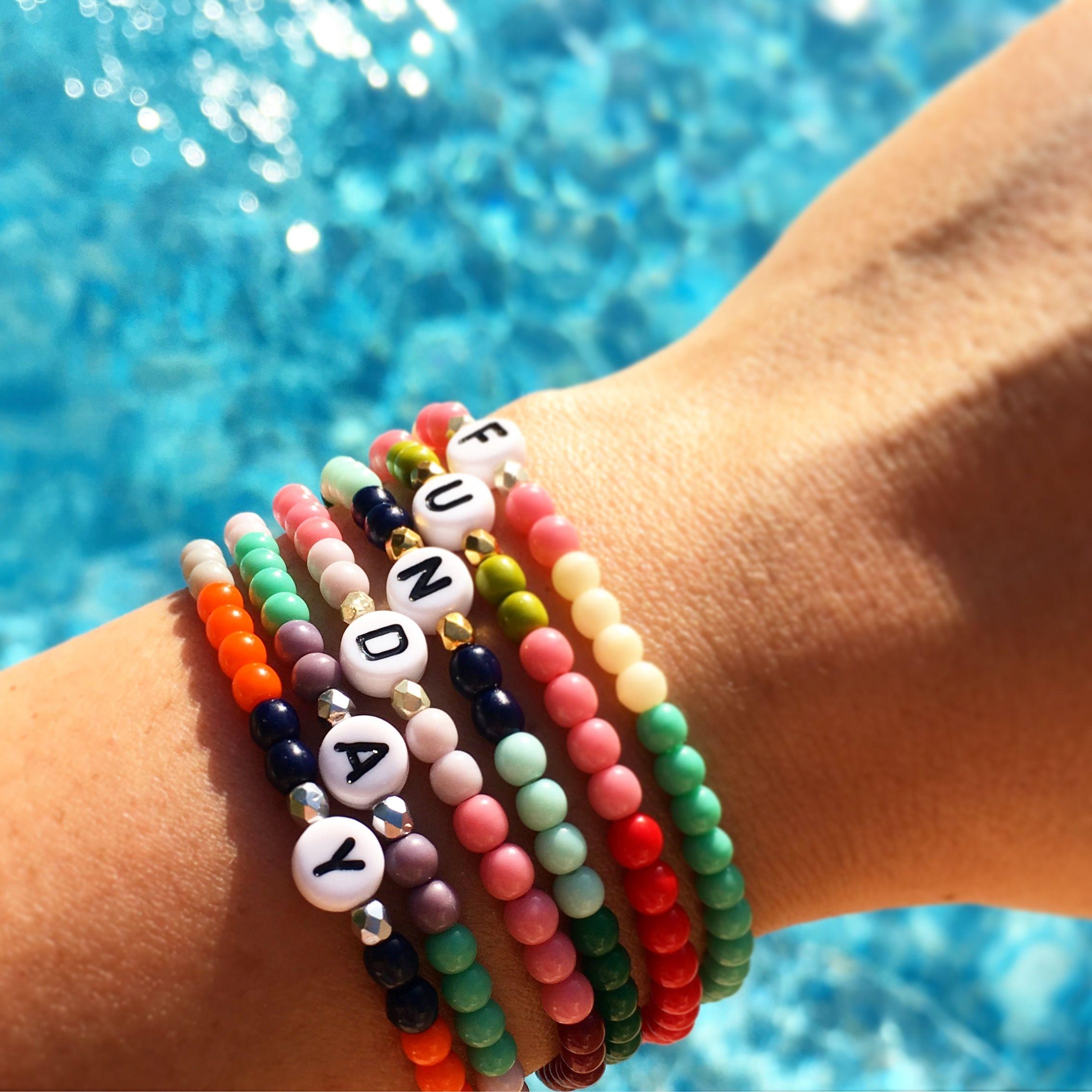 40+ Letter bead bracelets uk ideas in 2021