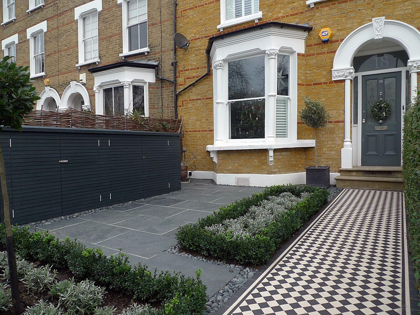 london front garden designer anewgarden | Portails | Pinterest | House