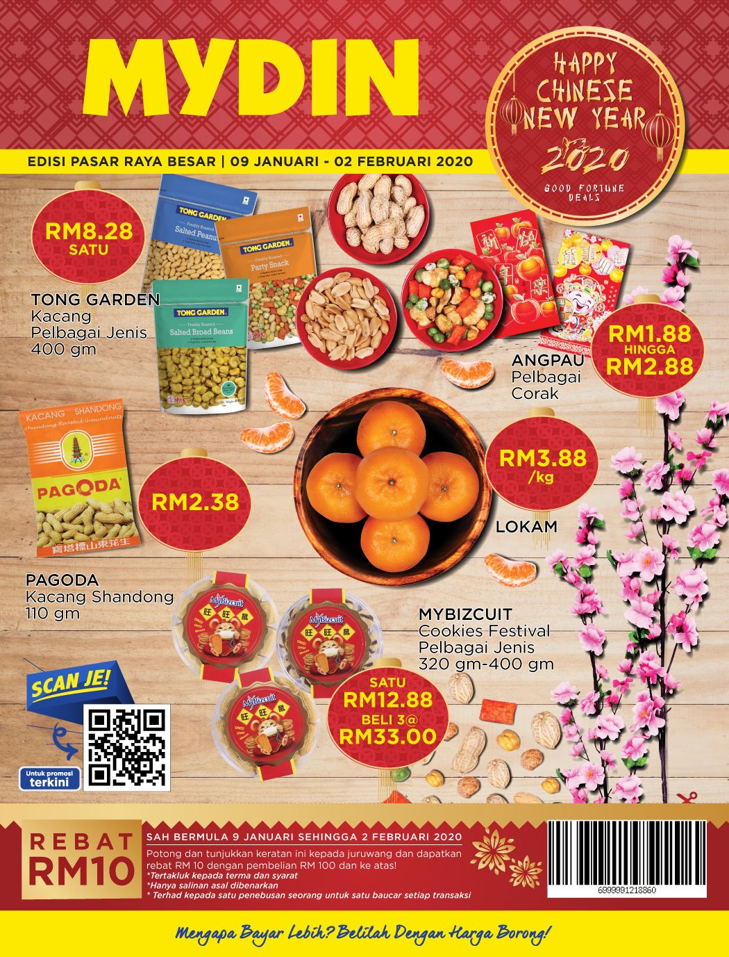 MYDIN Chinese New Year Promotion Catalogue from 9 January