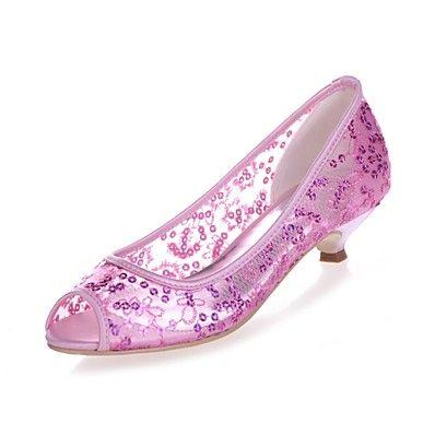 Image result for pink slingback mid heel wedding shoes
