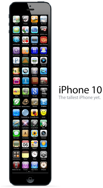 The new #iphone 10
