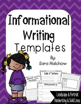 Informational Text  Research Writing Paper  Informational