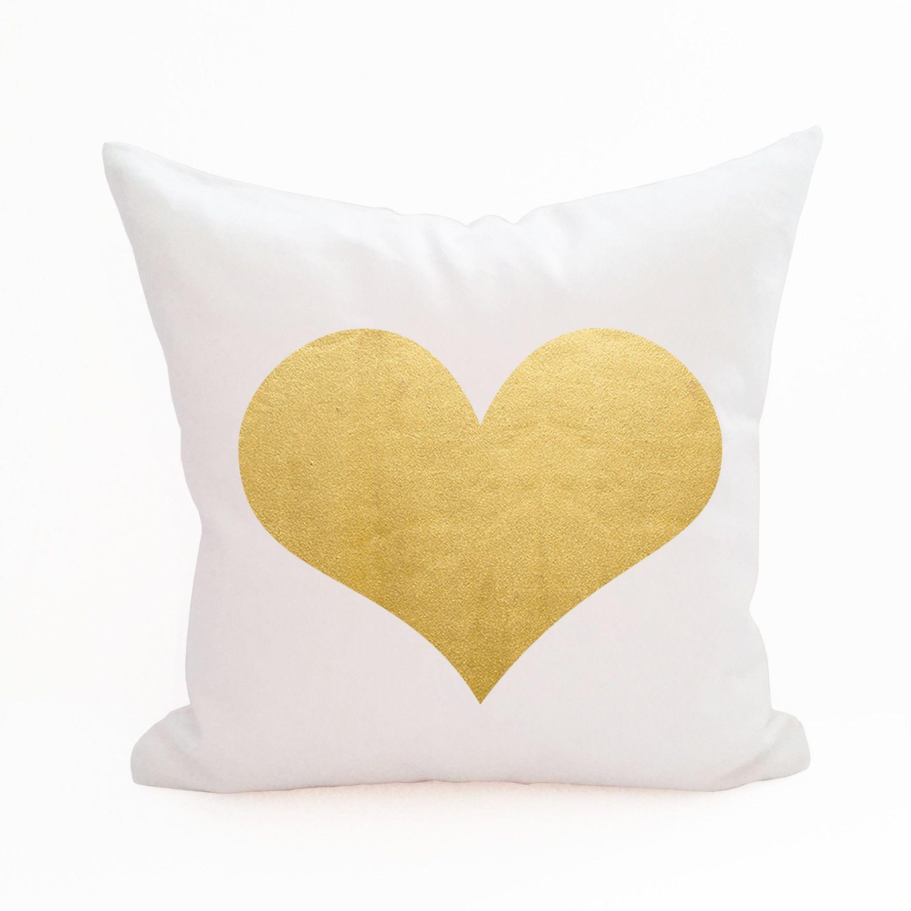 Heart pillow cover heart pillow cotton canvas and pillows