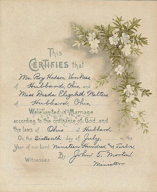 Page 8 | Certificate, Ohio and Ephemera