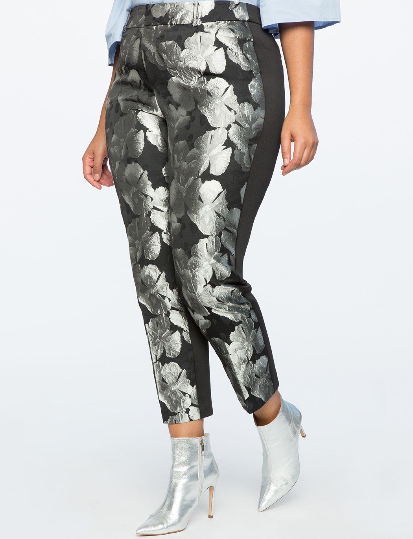 Kady Fit Metallic Brocade Pant | Women\'s Plus Size Pants in ...