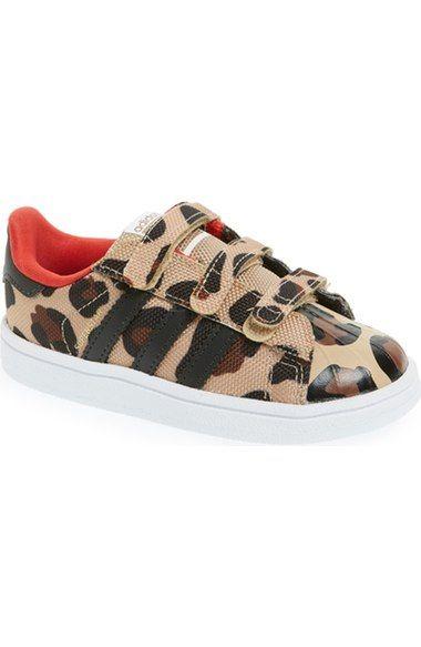 adidas \u0027Superstar - Leopard\u0027 Sneaker (Baby, Walker \u0026 Toddler) available at  � Toddler Girl ShoesToddler ...