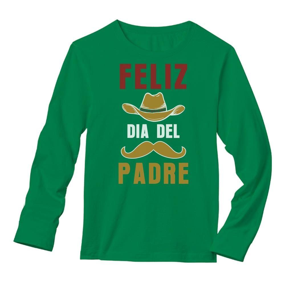 Feliz Dia Del Padre Long Sleeve T-Shirt