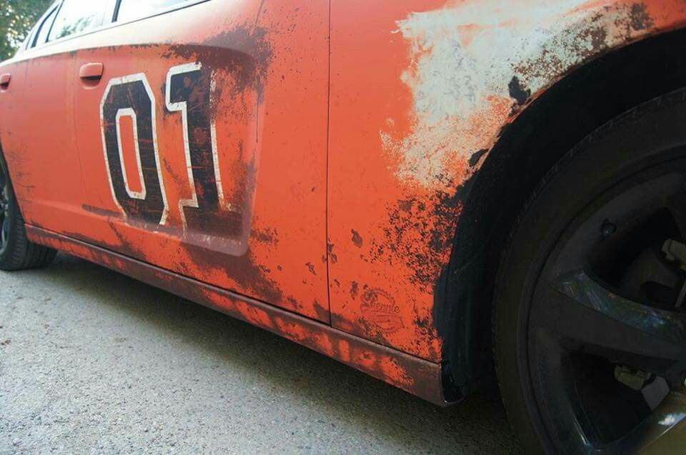 rust wrap charger | Cars Trucks Motorcycles | Car wrap, Car brands