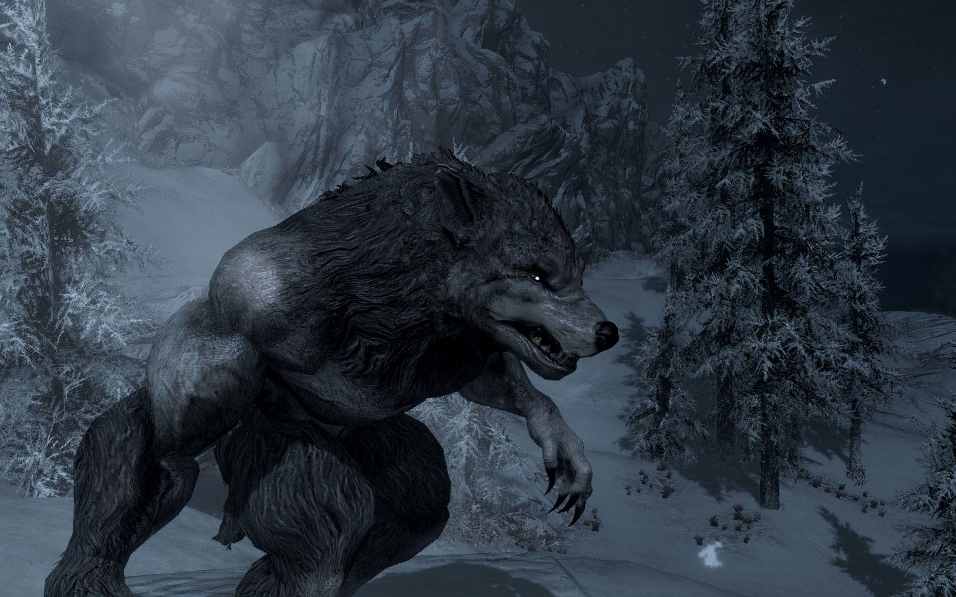 Skyrim Werewolf Mysterious Werewolf Skyrim Werewolf Wolf Knight