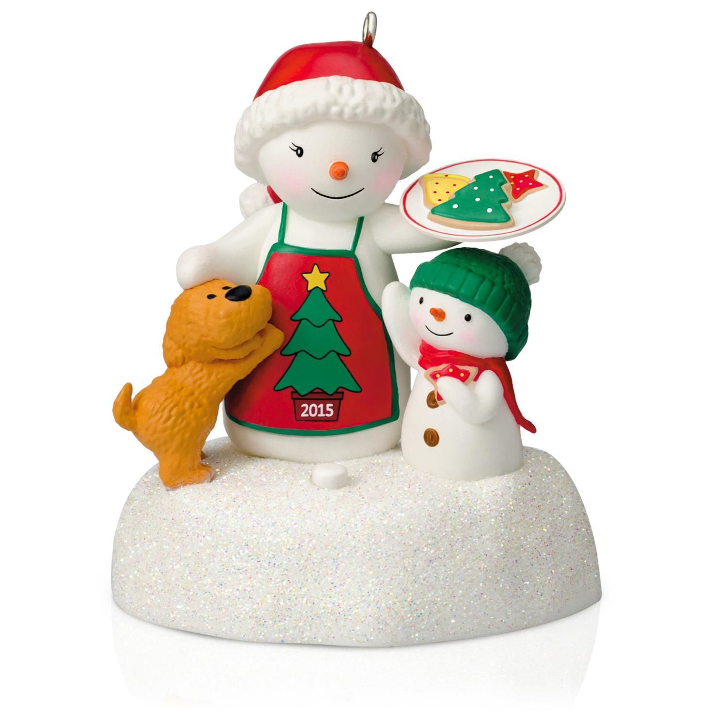 Baking Treats Together Deck The Halls Ornament