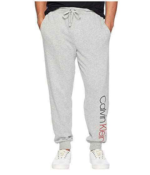06186f2f3bd105 CALVIN KLEIN UNDERWEAR Bold Accents Lounge Zip-Up Jogger, GREY HEATHER.  #calvinkleinunderwear #cloth