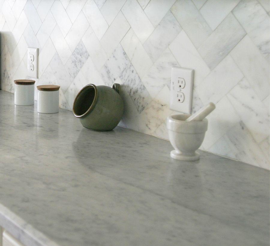 Marble Herringbone Backsplash Portfolio Meganthology Beautiful Kitchens Herringbone Backsplash Kitchen Backsplash