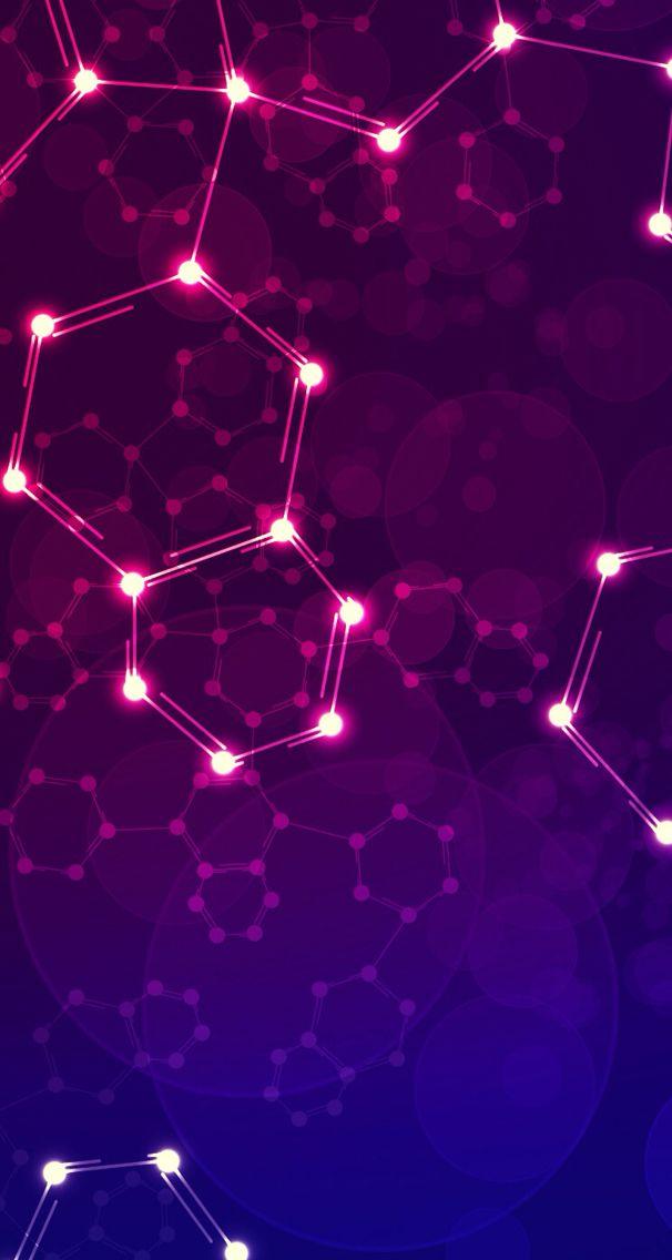 Chemistry Purple Wallpaper Background Chemistry Art Abstract Geometric Wallpaper Iphone