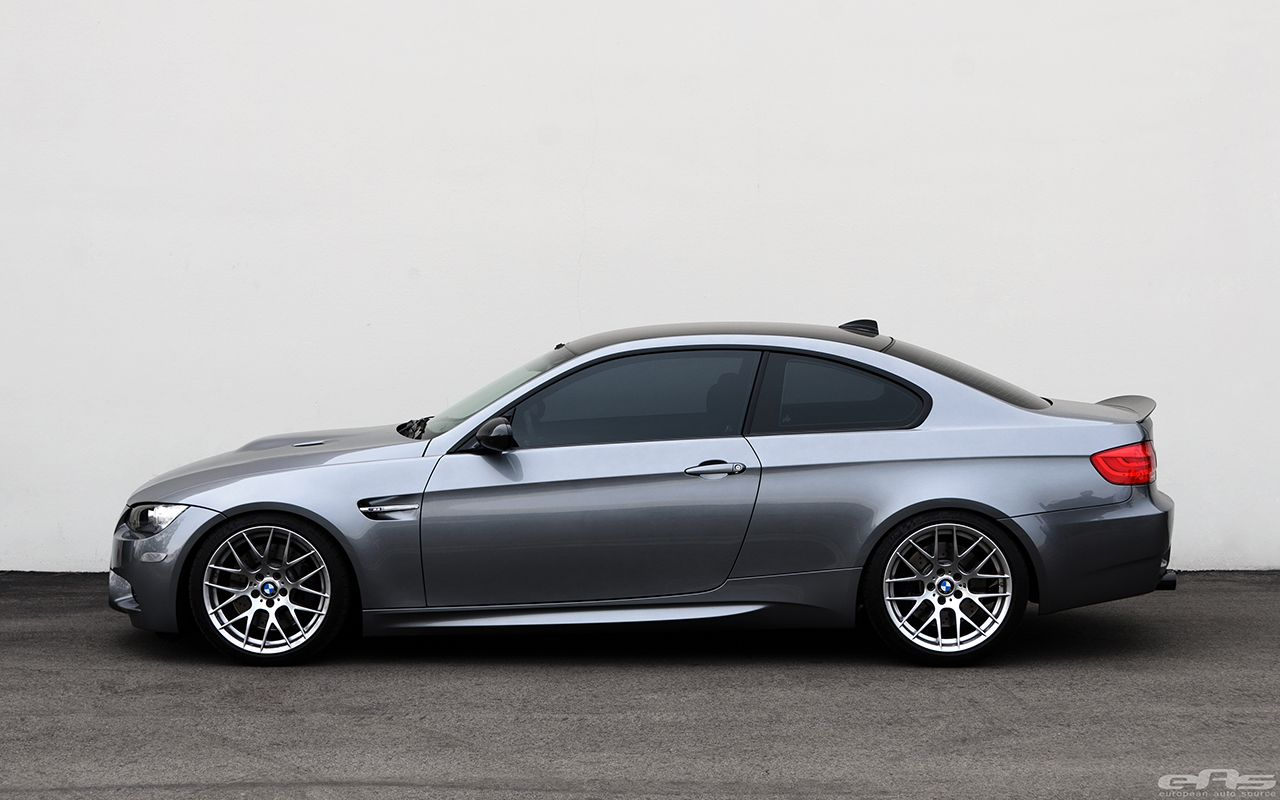 Space Gray BMW E92 M3 Gets Lowered and Supercharged | Car