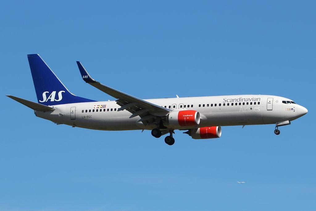 Boeing 737 86nwl Ln Rgc Cecilia Viking Sas Scandinavian Airlines At London Heathrow Airport Fleet Boeing 737 Boeing