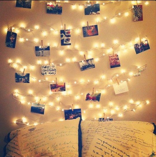 22 ideas para darle un nuevo brillo a tu habitaci n - Habitaciones con luces ...