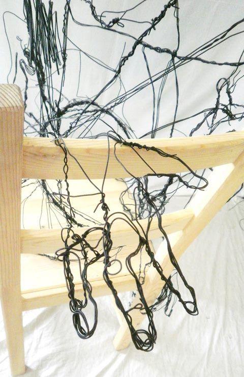 David Oliveira - Dive, 2012. #tuga power. #wireframe #sculpture