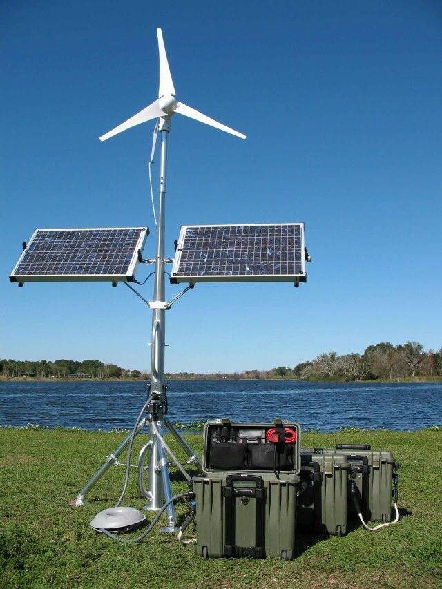 Solar And Wind Together Solar Energy Panels Solar Heating Solar Panels