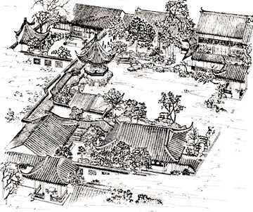 chinese garden plan Google Plans of the gardens and