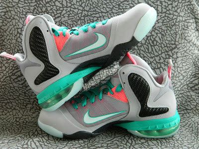new product 084f4 7b090 Kids Nike LeBron 9 GS Miami Vice