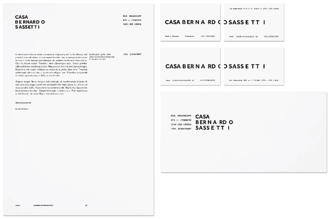 Casa Bernardo Sassetti - 3H Comunicação