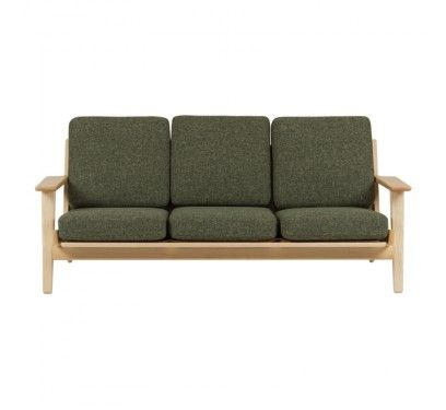 Amazing Nood Retro 3 Seater Sofa Echoing The Classic Designs Of Pdpeps Interior Chair Design Pdpepsorg