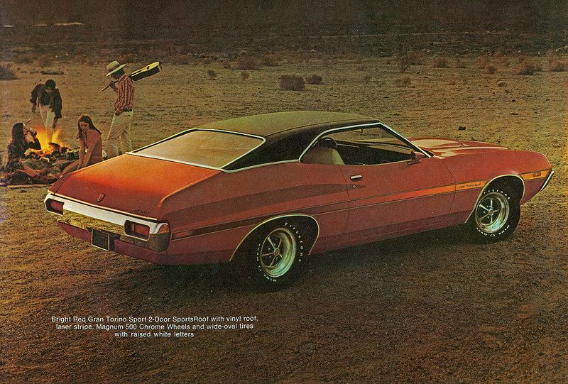 1972 Ford Gran Torino Sport 2 Door SportsRoof Muscle