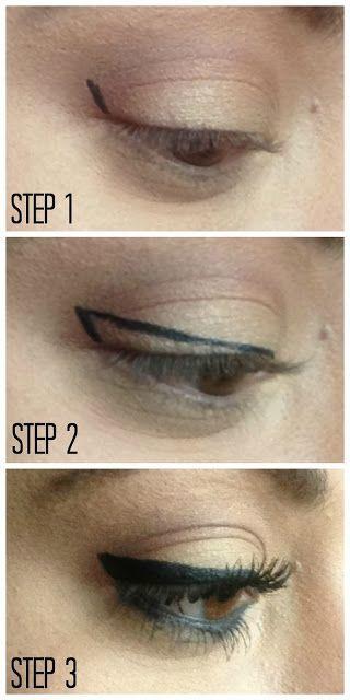Makeup Newsflash # 10: The Best Pinterest Makeup Tutorials - Mac Blog Star -  easy to apply eyeliner  - #blog #CelebrityStyle #Mac #makeup #MenGrooming #newsflash #pinterest #RunwayFashion #Star #StylingTips #tutorials