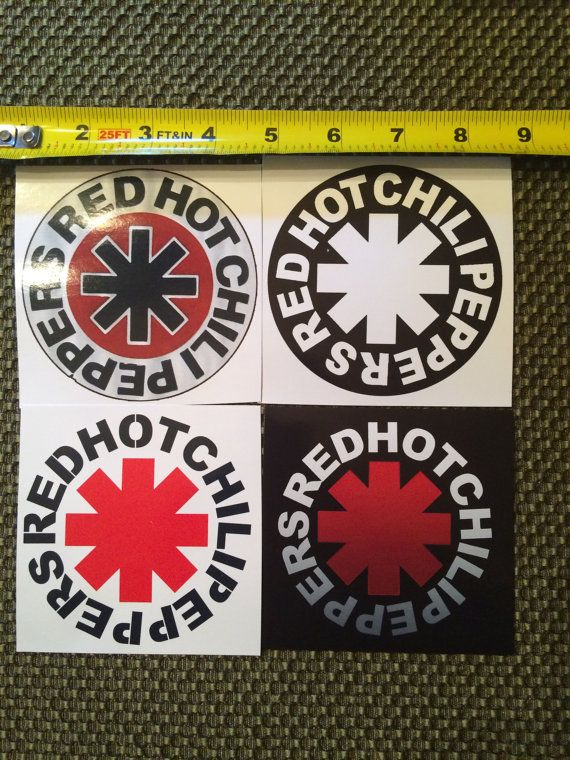 Pepper Band Stickers