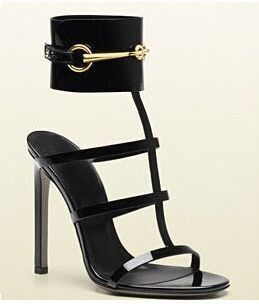 Elegant Patent Leather Heels